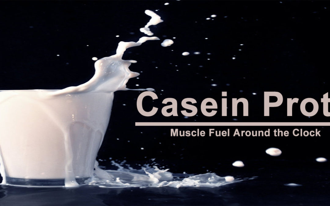 Casein Protein: The Secret About When to Take it